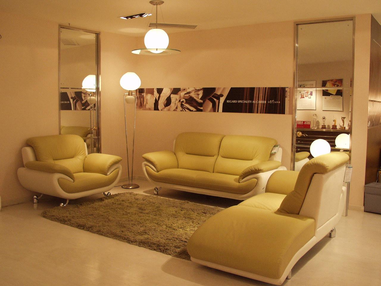 左右沙发——欣赏