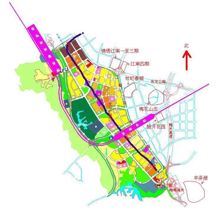 深圳火车站—龙华站