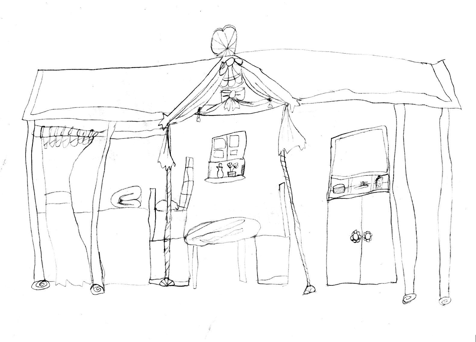 建筑设计——欧式小房子