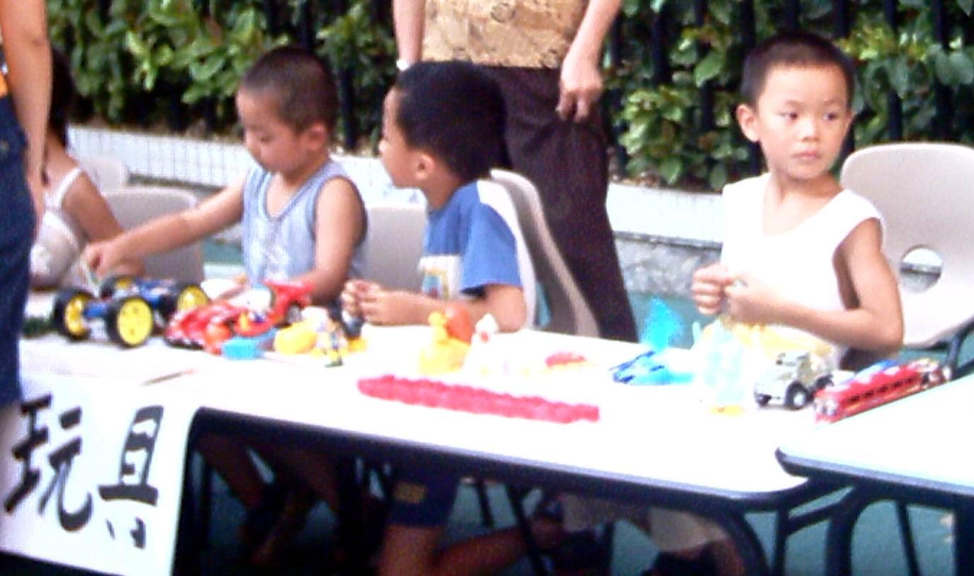 幼儿园跳蚤市场活动花絮