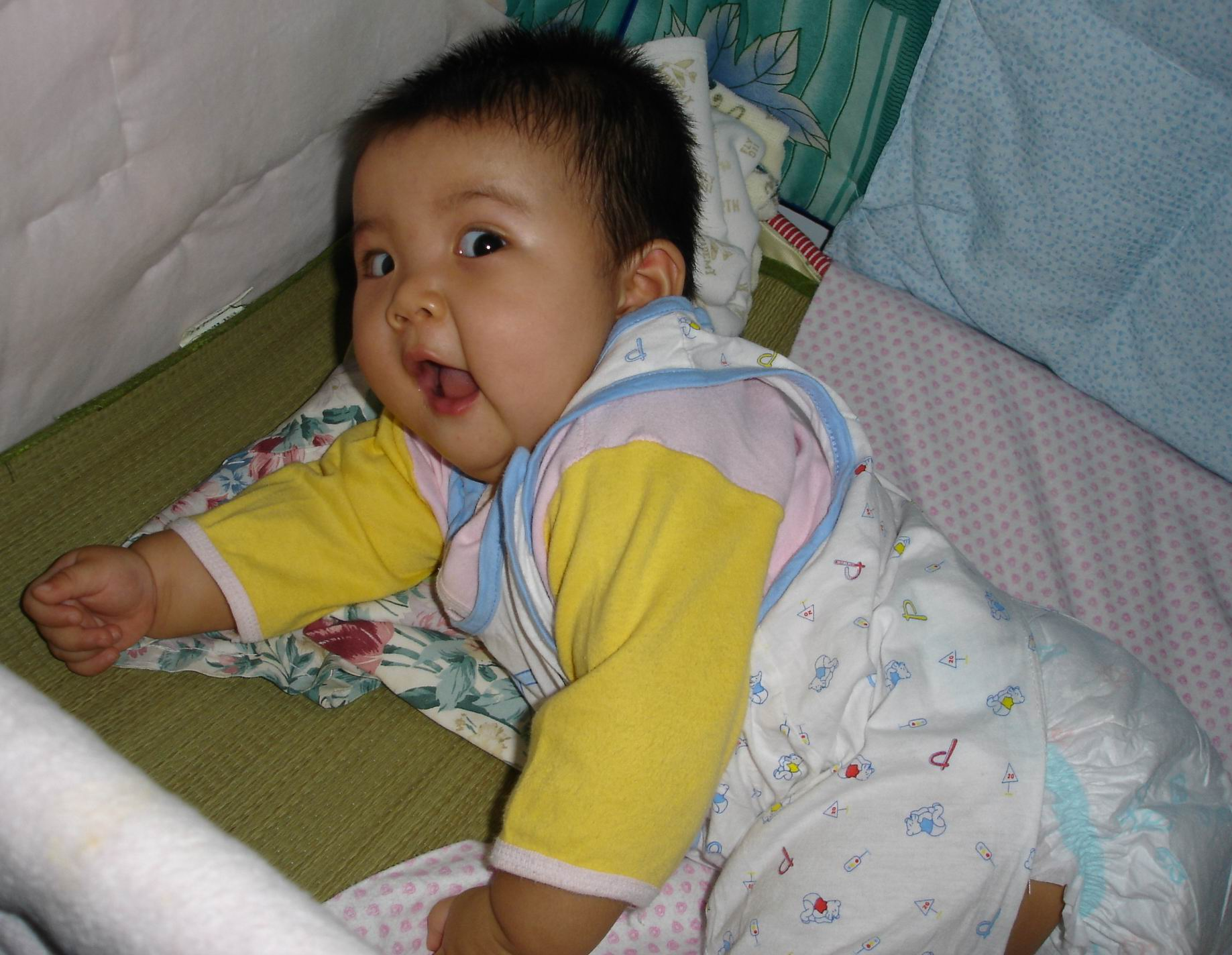 正式发大眼睛宝宝的艺术照(一)
