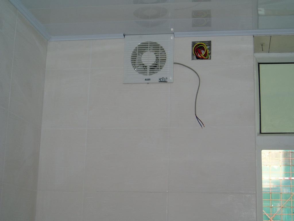 排气扇安装问题: - 深圳房地产信息网论坛
