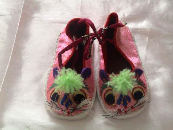 宝宝猫头鞋钩法步骤及图解