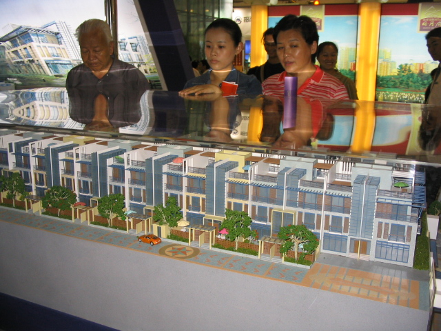 城市山谷,城市中的经济型别墅