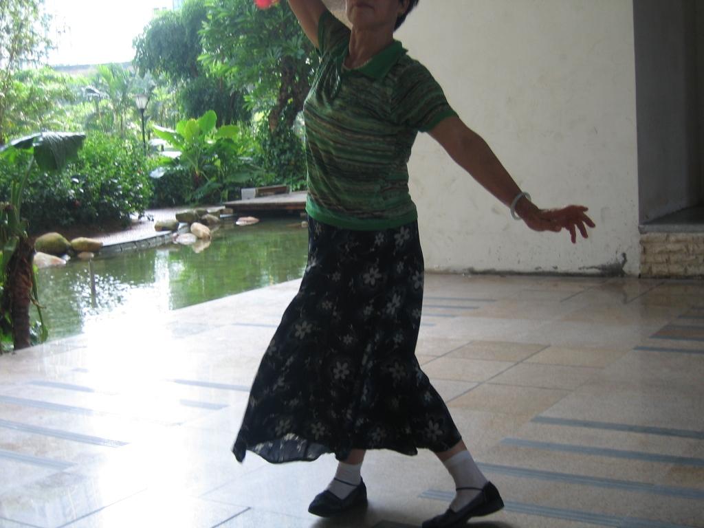 孤独的舞者